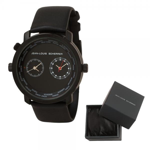 Passion for Travel Set Ceas Dual Time Zone Jean-Louis Scherrer si Cutie 3 Ceasuri - personalizabil 4