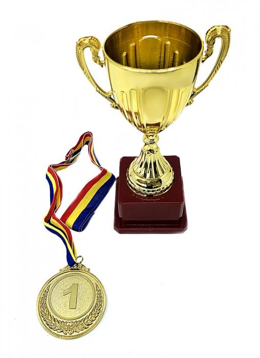 Set Cadou Personalizabil Trofeu si Medalie [0]