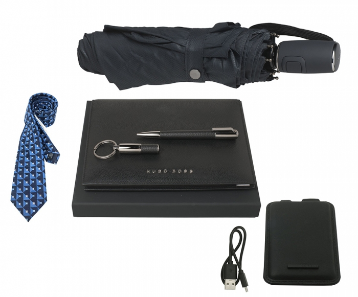 Set Business Leader Hugo Boss Personalizabil si Cravata Gratie Filipeti 0
