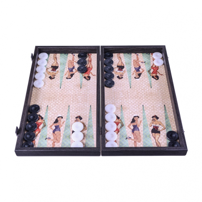 Table de joc Pin-up Girls by Manopoulos, made in Greece 0