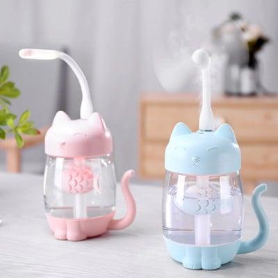 Umidificator Pink Cat + ventilator si lampa detasabila [2]
