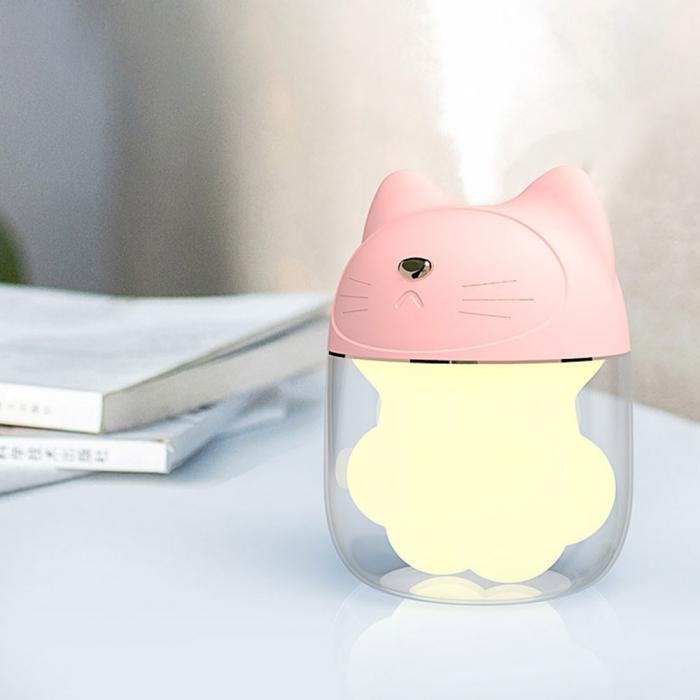 Umidificator Pink Cat + ventilator si lampa detasabila [0]