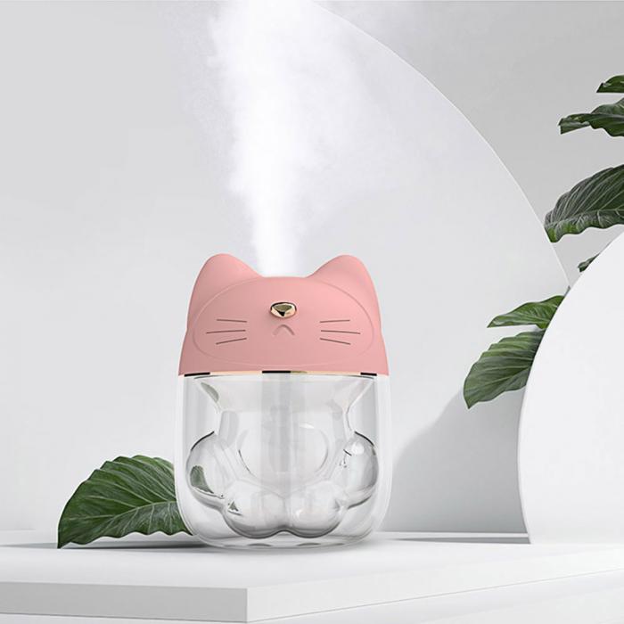 Umidificator Pink Cat + ventilator si lampa detasabila [7]