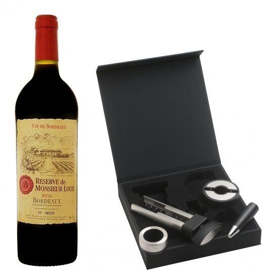 Set De Vinuri Distinct Hugo Boss Desk & Vin Bordeaux-big