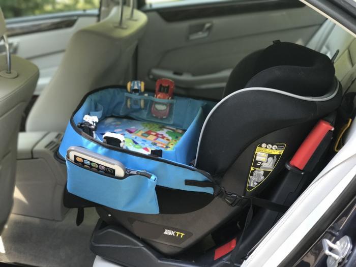 Masuta Calatorie / Tavita de copii pentru masina si carut KIDSMARTER. Perfecta pentru joaca, mancare, desen, cand sunteti pe drum.-big