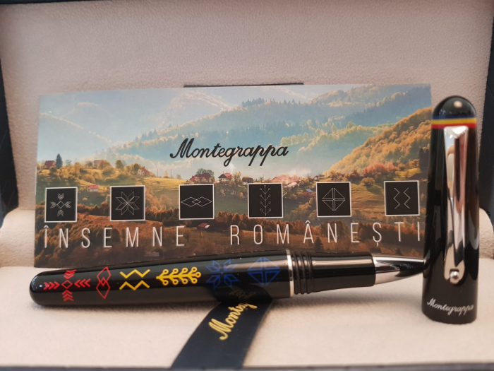 Elmo 01 Roller Insemne Romanesti by Montegrappa, Made in Italy 5
