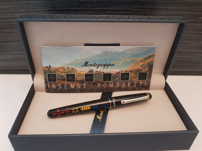 Elmo 01 Roller Insemne Romanesti by Montegrappa, Made in Italy 6
