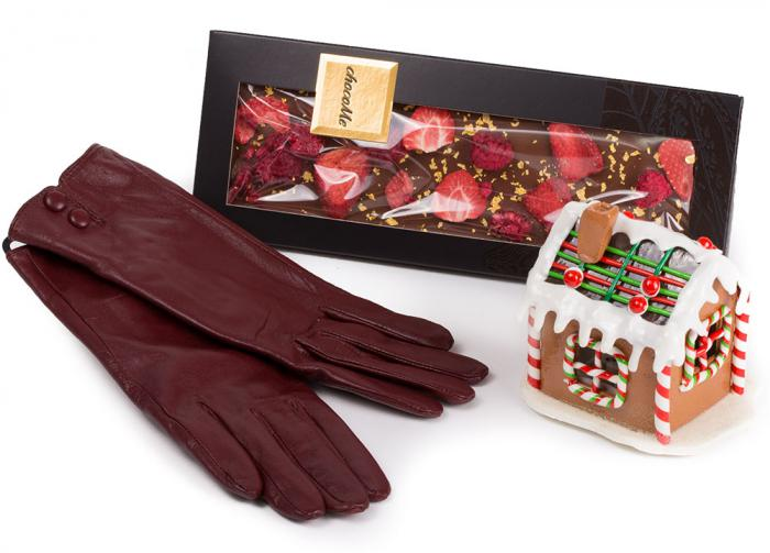 Cadou Red Christmas Gingerbread & ChocoMe 0