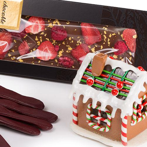 Cadou Red Christmas Gingerbread & ChocoMe 1