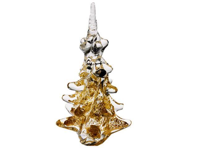 Brad din cristal cu aur MARCOLIN - Albero di Natale - Made in Italy 0