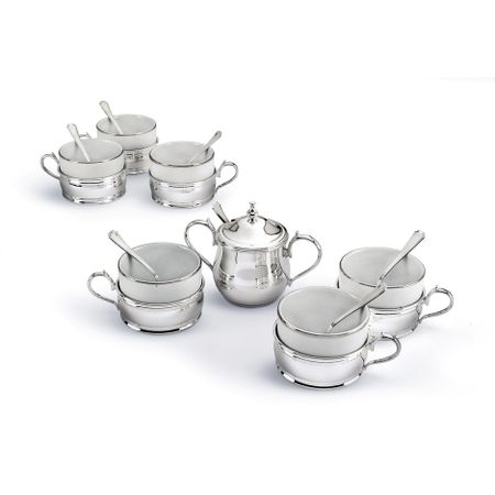 American Silver Coffee Set by Chinelli-big