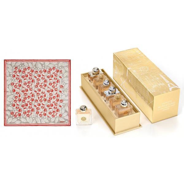 Set Amouage 6 Parfumuri Classic Women Miniatures si Esarfa Cacharel 0