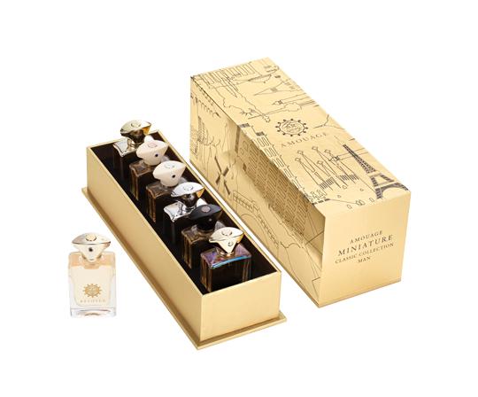 Amouage 6 Miniatures Classic Collection Pour Man 0