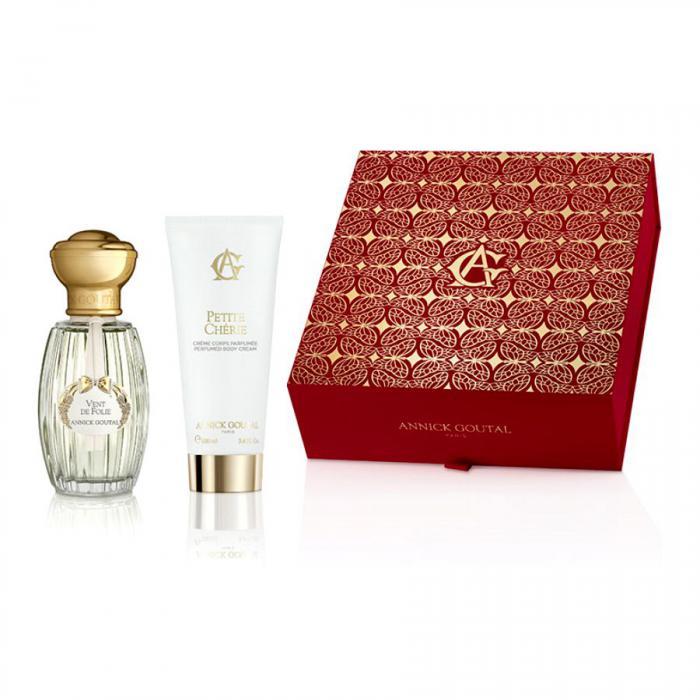 Set Vent de Folie by Annick Goutal Parfum (50 ml) + Lotiune de Corp (100 ml) si Esarfa Cacharel 3