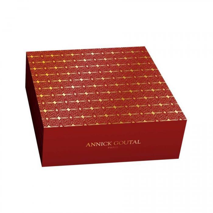 Set Vent de Folie by Annick Goutal Parfum (50 ml) + Lotiune de Corp (100 ml) si Esarfa Cacharel 4