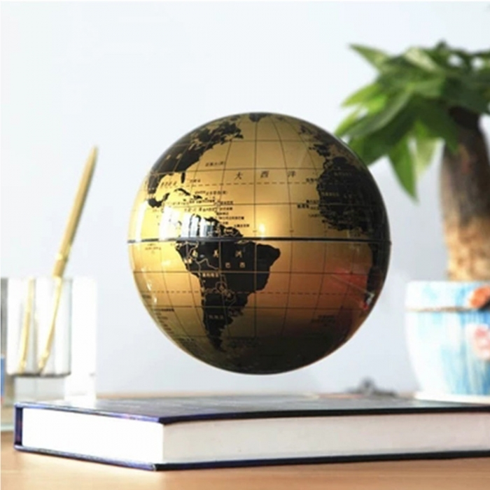 Atlas of Levitation Extra Large 14 cm diametru Glob Pamantesc Desk-big