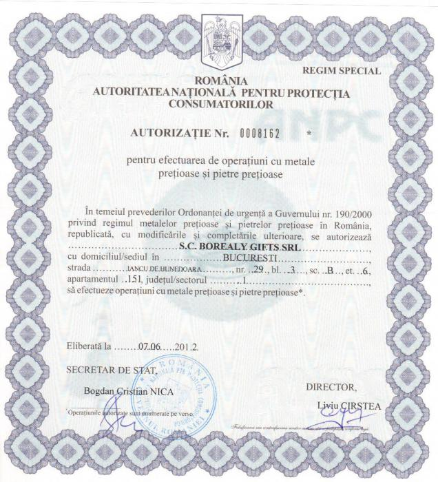 Inel Borealy Argint 925 Created Diamond Verigheta Marimea 8 4