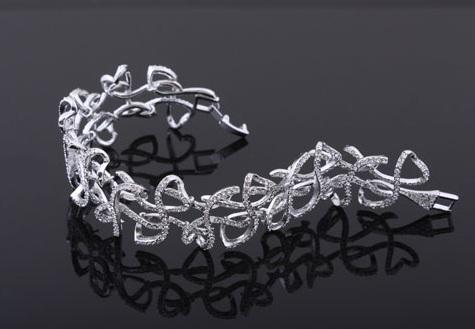 Victoria Diamonds Colier si Bratara 3