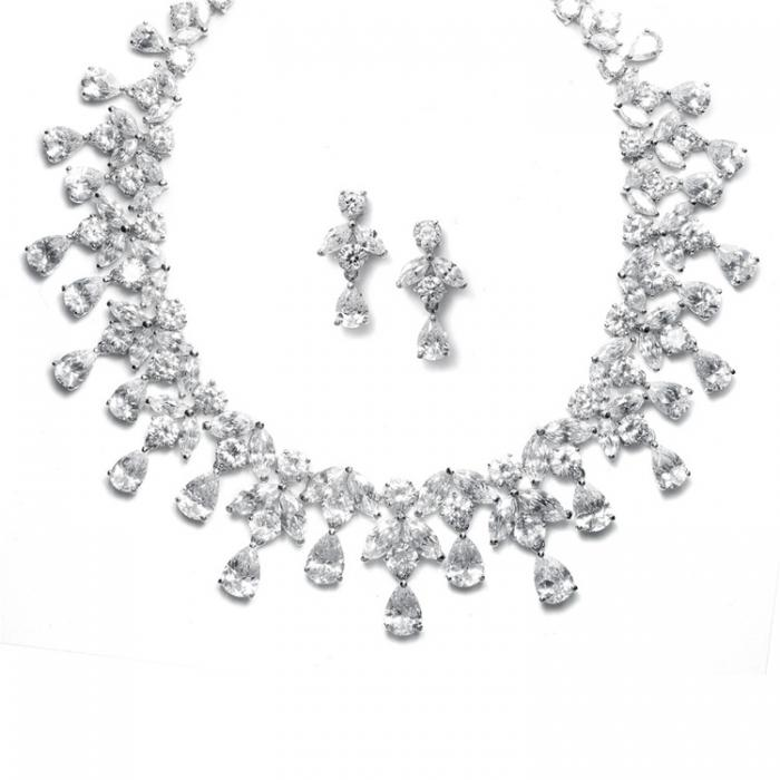 Set Borealy Simulated Diamonds Spectacular Luxury 0