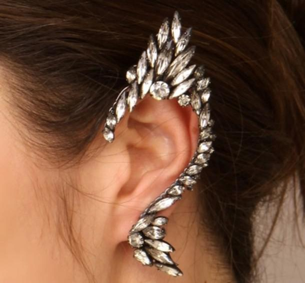 Cercel Ear Cuff Punk Couture by Borealy-big