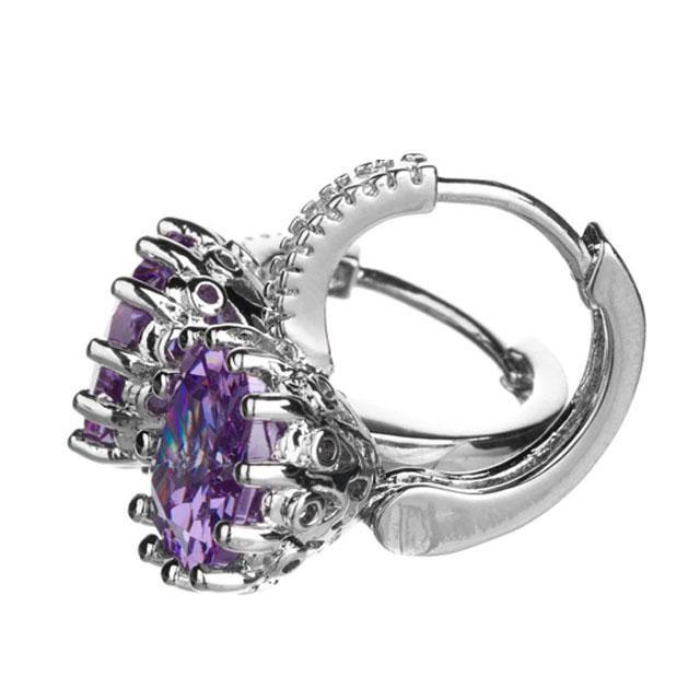 Cercei Borealy Sapphire 3 Carate Lilac 3