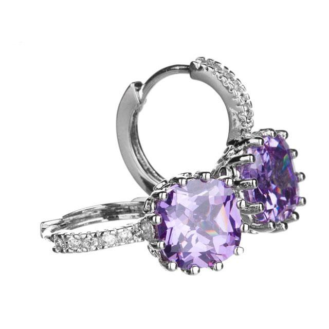 Cercei Borealy Sapphire 3 Carate Lilac-big