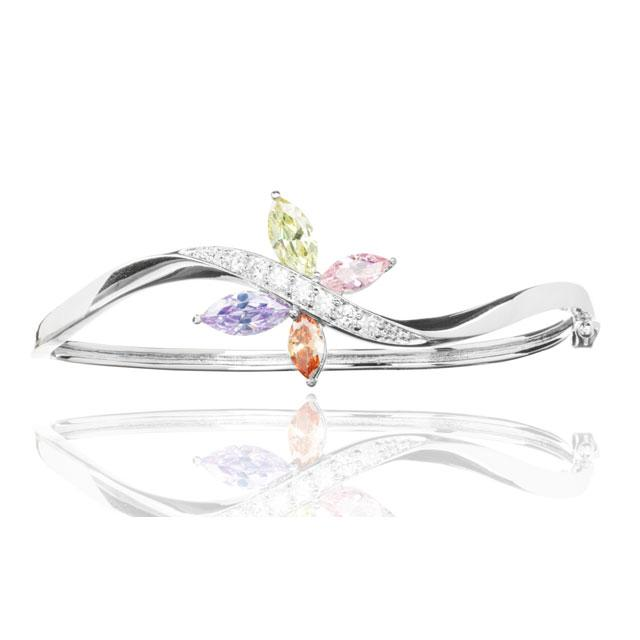 Bratara Borealy Topaz Bangle Butterfly Colours-big