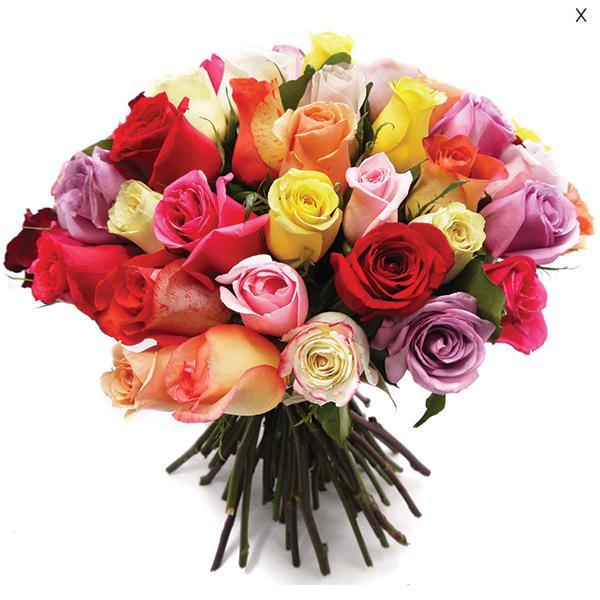 Buchet 49 trandafiri cu vaza-big