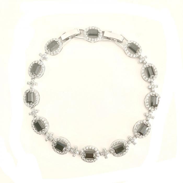 Brăţară Black Classic 10 carate Simulated Diamonds [1]