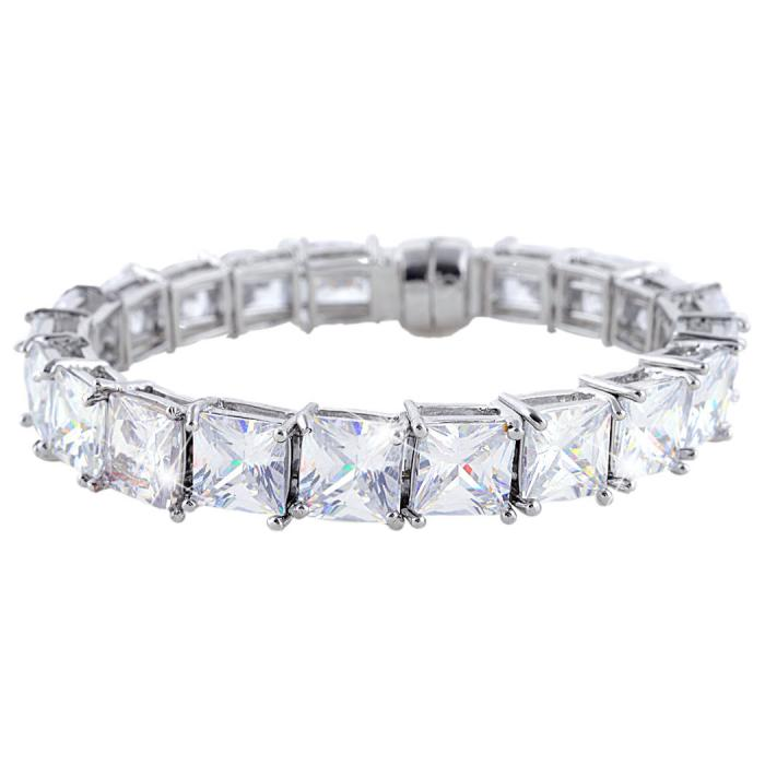 Brăţară Borealy Square Diamonds 0