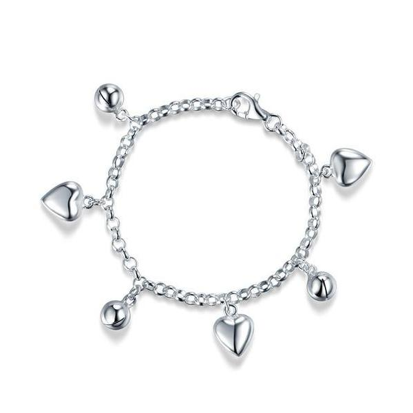 Bratara pentru Copii Borealy Argint 925 Triple Heart-big