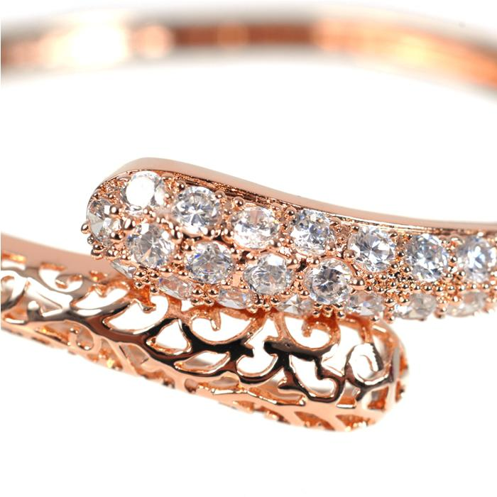 Brăţară Borealy Diamonds Bangle Maroc Pink 1
