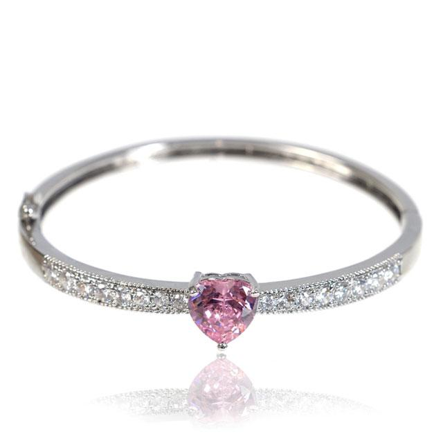 Brăţară Borealy Bangle Pink Love 0