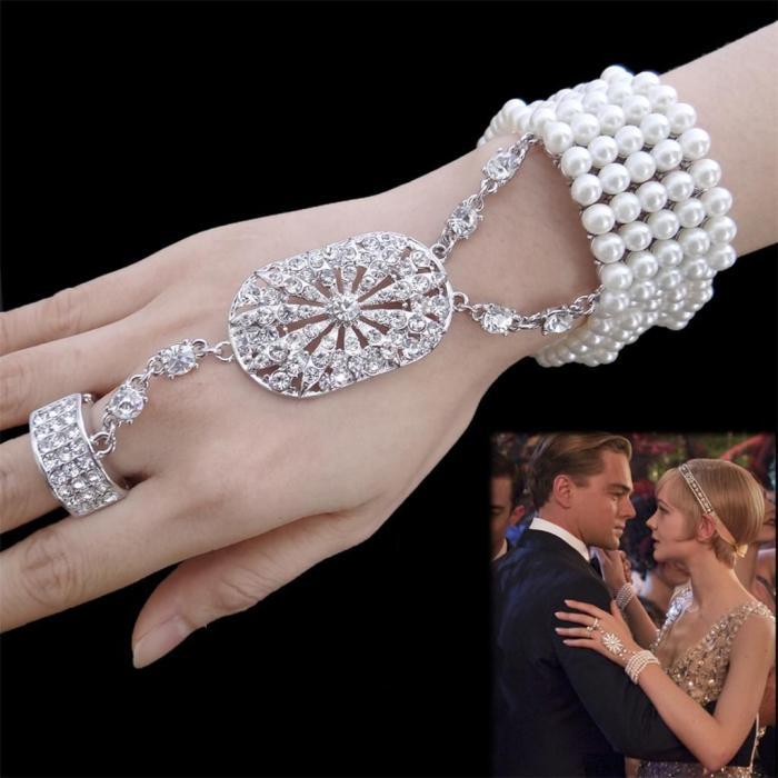 Great Gatsby Pearl Brăţară 1