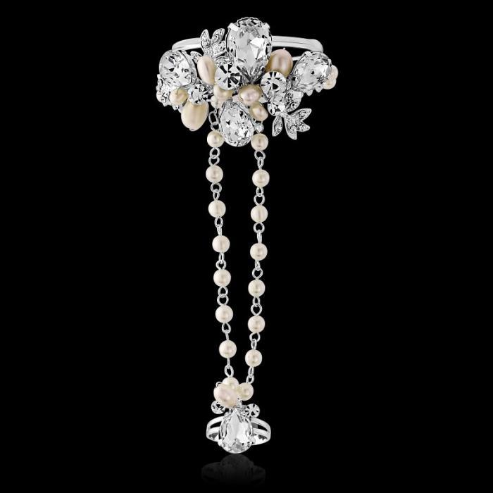 Bratara Borealy Pearl Luxury Hand 2