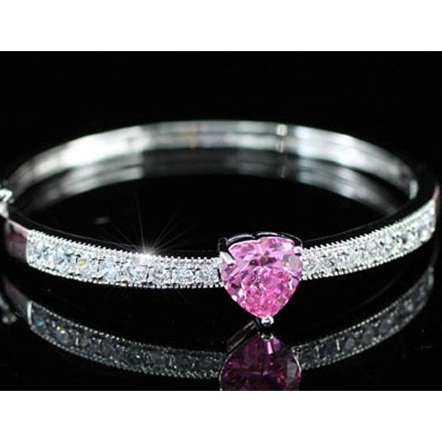 Brăţară Borealy Bangle Pink Love 4