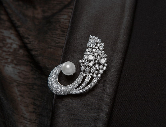Broşă Classic Pearl Luxury [1]