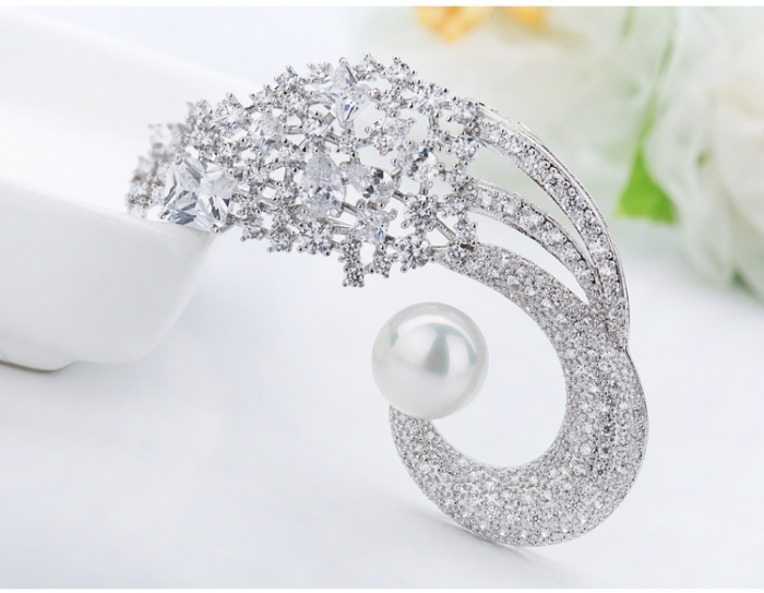 Broşă Classic Pearl Luxury [2]