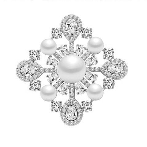 Broşă Trianon Baroque [0]