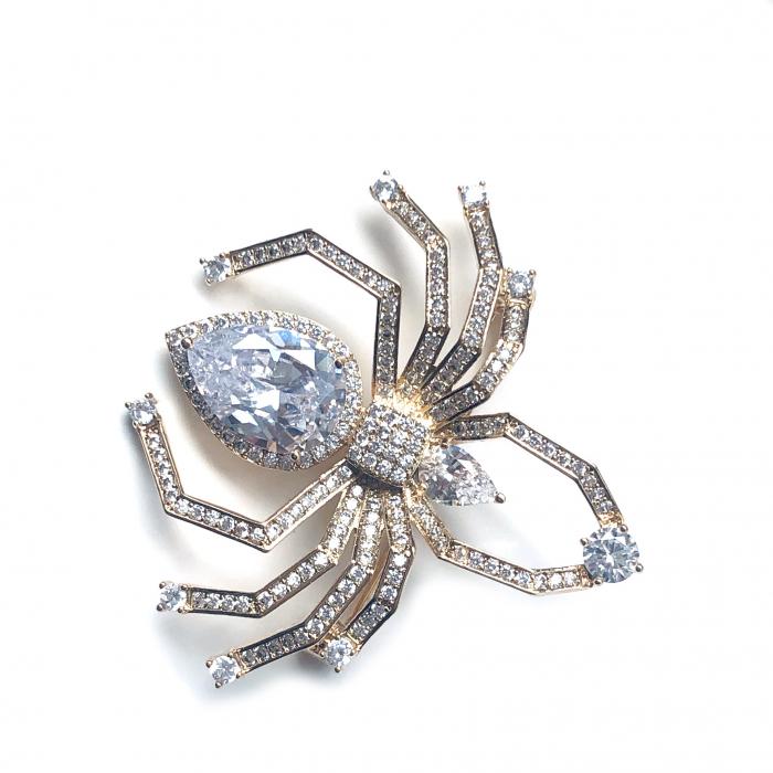 Spider Broşă Gold 0