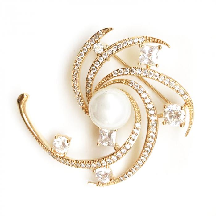 Broşă Star Pearl Luxury [1]