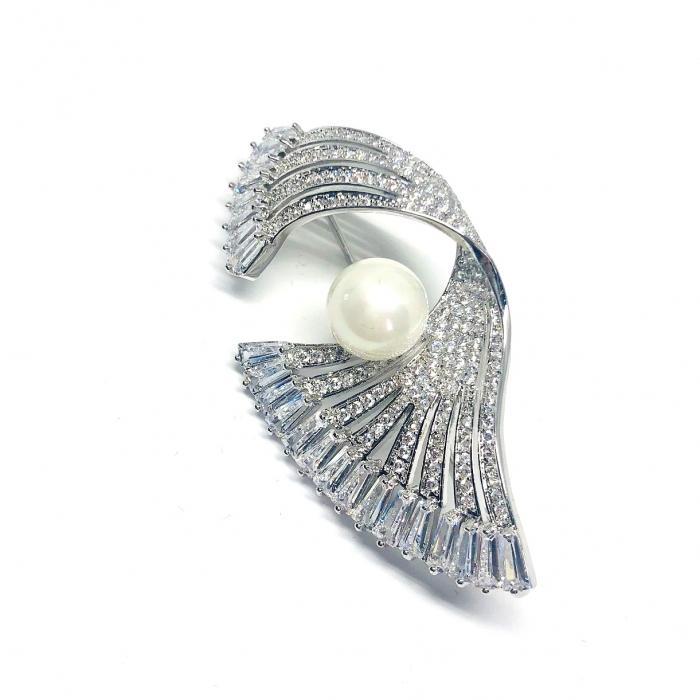 Brosa Silver Fan [0]