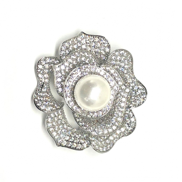 Brosa Borealy Rose One Pearl [0]