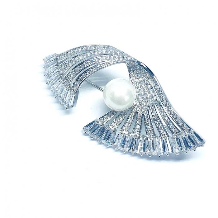 Brosa Silver Fan [1]