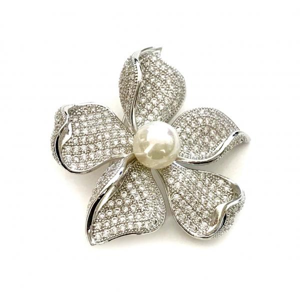 Brosa Flower Pearl by Borealy 0