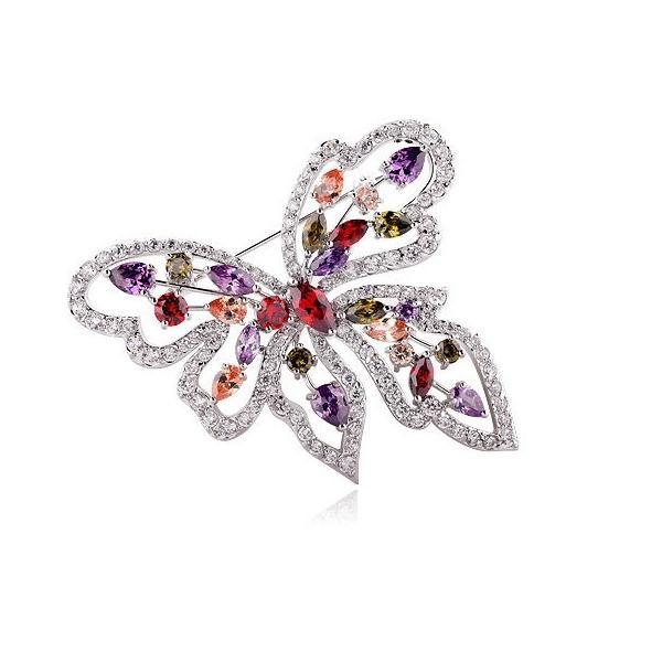 Brosa Fluture Multicolor Borealy 0