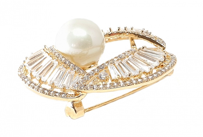 Ivory Pearl Gold Brosa 1