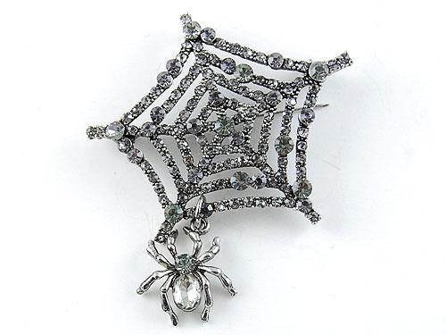 Broşă Spider Web-big