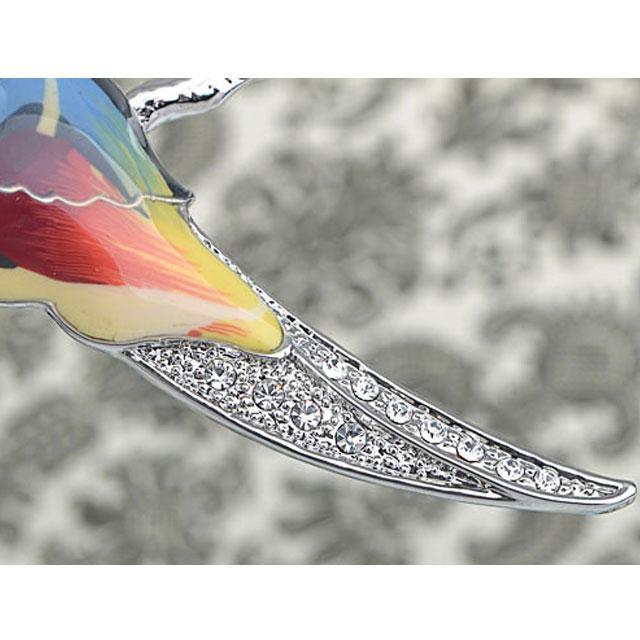 Broşă Multicolour Papagal by Borealy 3