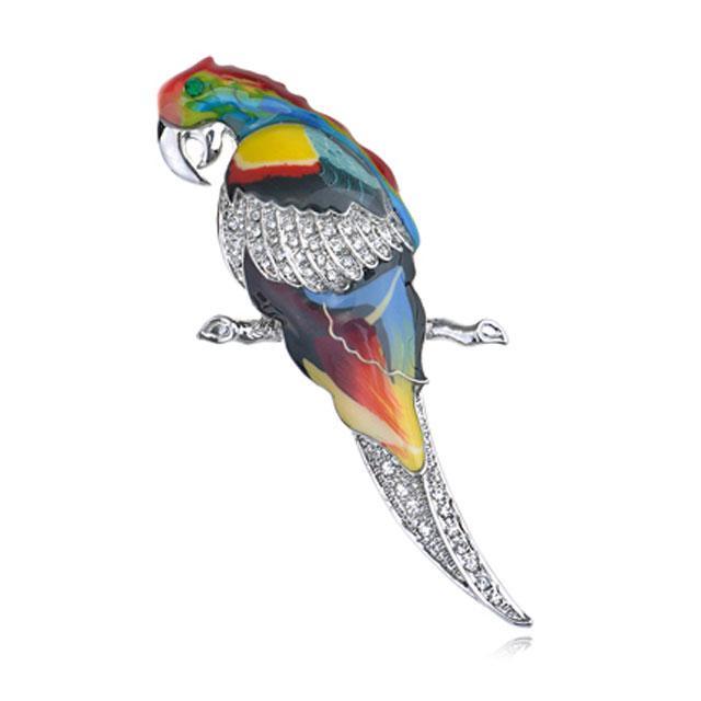 Broşă Multicolour Papagal by Borealy 0